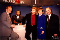 "Chuck Norris - WRC Newsroom - ""Sidekicks"" Movie Promotional Tour 1992"