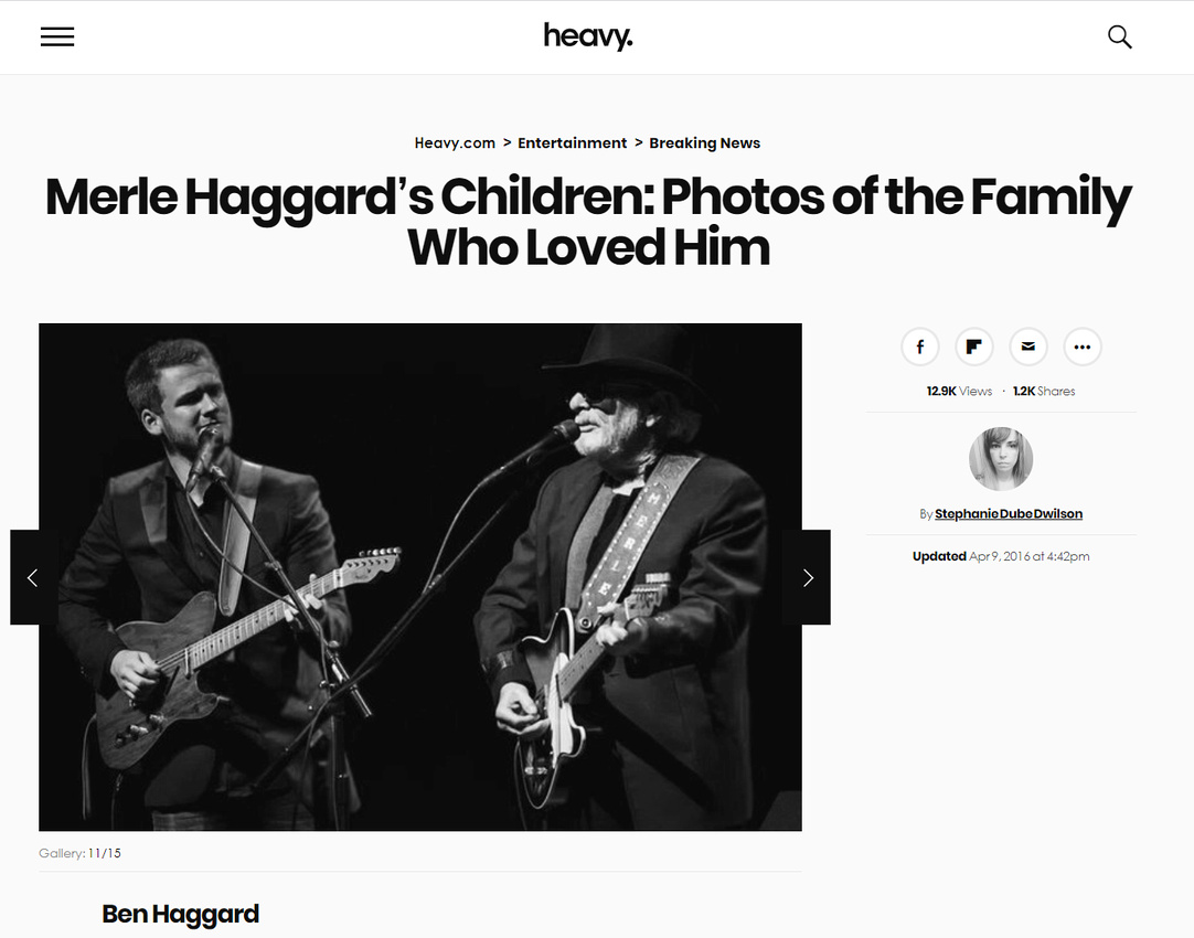heavy.com 2016-04-09 - Merle and Ben Haggard by Alan Wallace